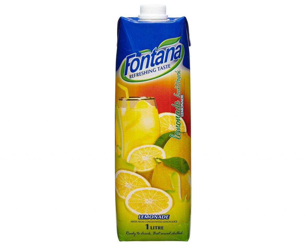 Fontana Lemonad Fruktdryck