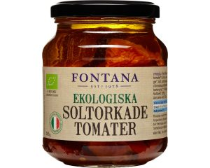 Fontana Soltorkade Tomater Ekologiska