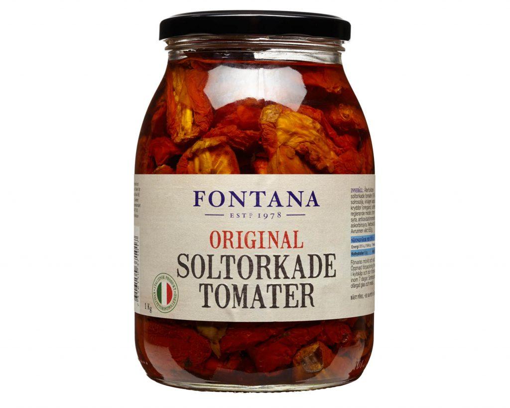 Fontana Soltorkade Tomater i Marinad Original