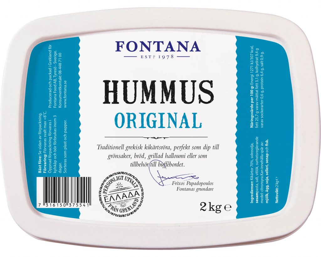 Fontana Hummus Original