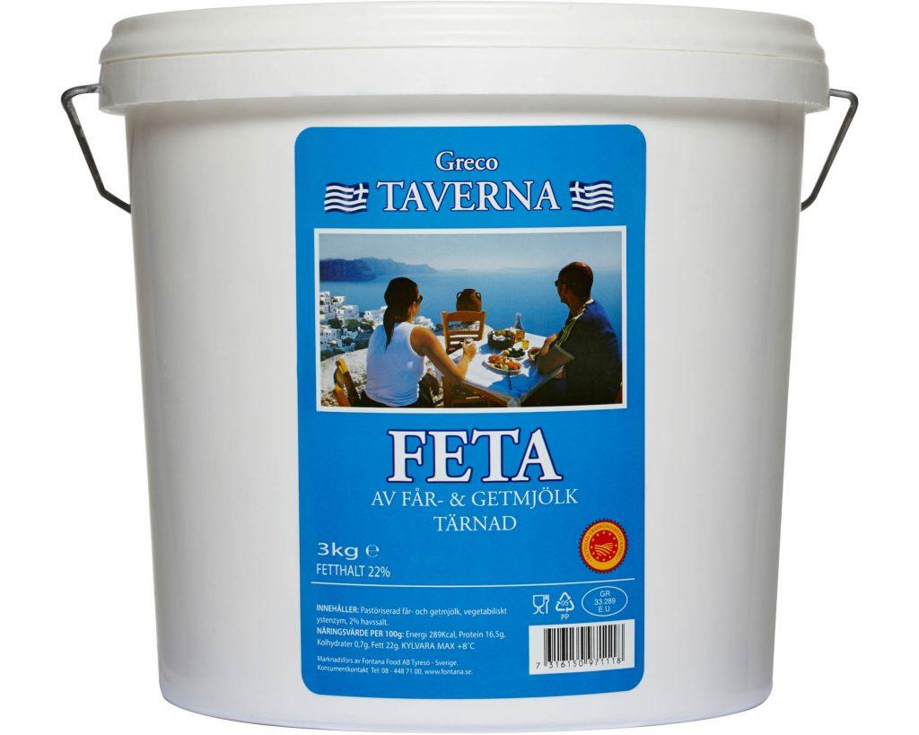 Fontana Feta Tärnad Taverna