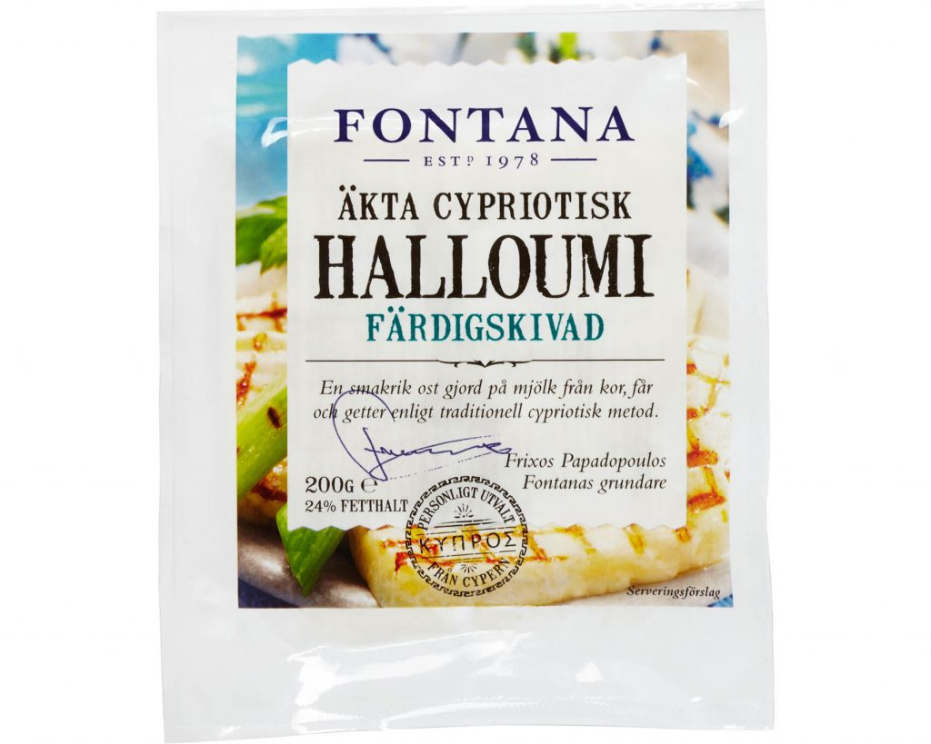 Fontana Halloumi - Skivad