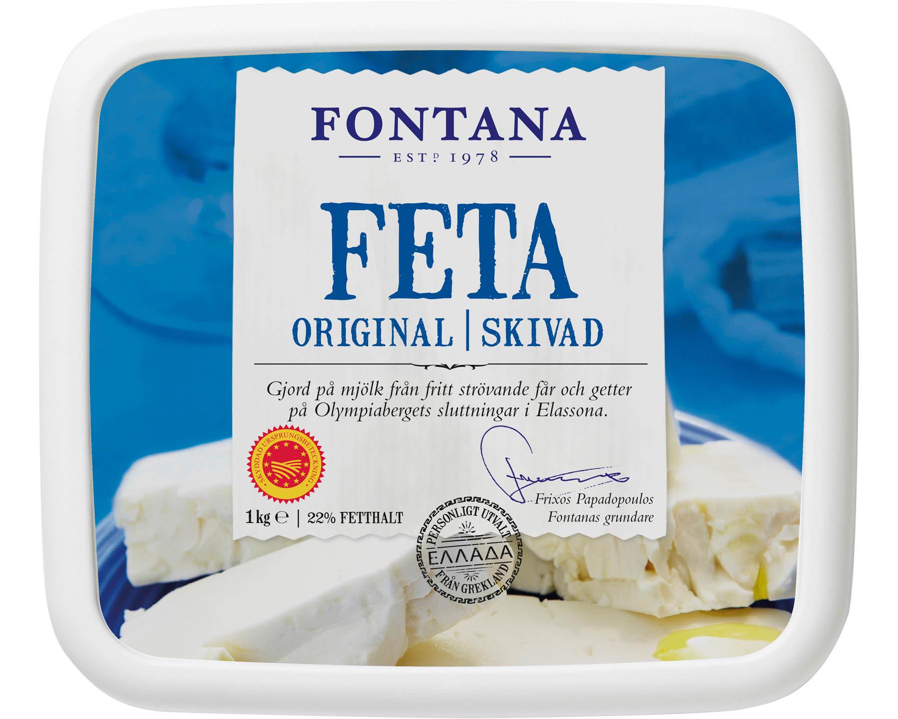Fontana Feta Skivad