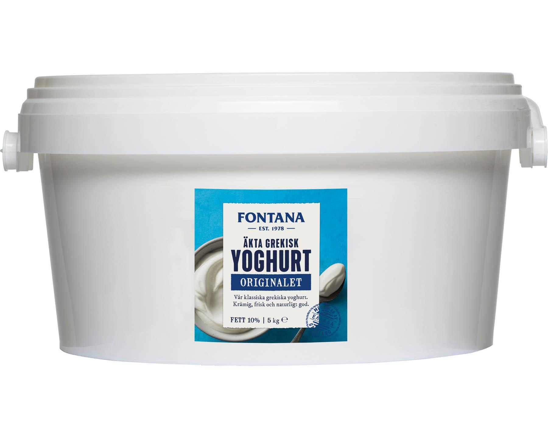 Fontana Äkta Grekisk Yoghurt 10%