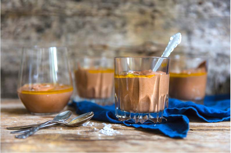 Chokladmousse Med Olivolja Recept