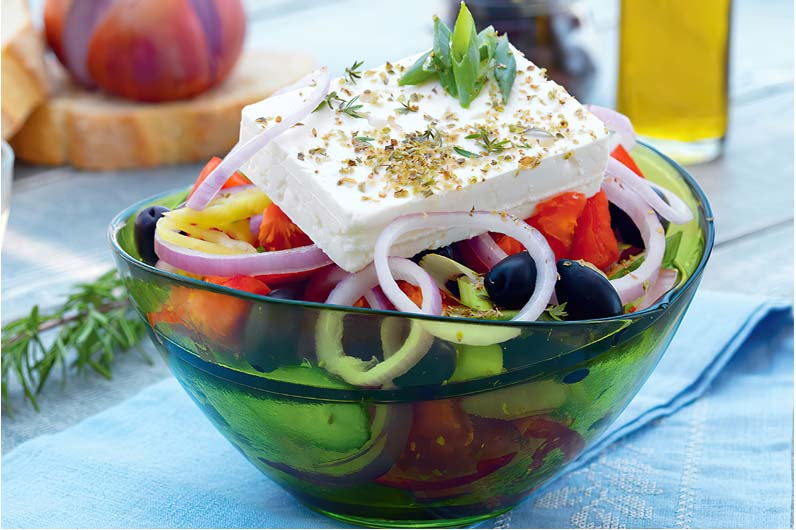 Grekisk Sallad Recept