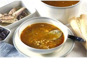Grekisk Linssoppa - Fakes Soupa Recept