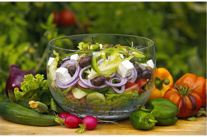 Grekisk Sallad - Horiatiki Salata Recept