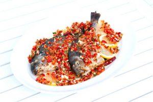 Grillad Sea Bream Med Salsa Recept
