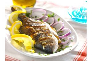 Grillad Seabream Recept