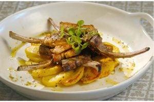 Grillade Lammkotletter - Paidakia Arnissia Sharas Recept