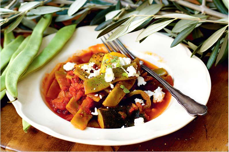 Gröna Bönor Med Tomatsås Recept