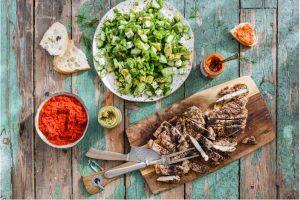 Kryddstekt Kyckling Med Sommarsallad Recept