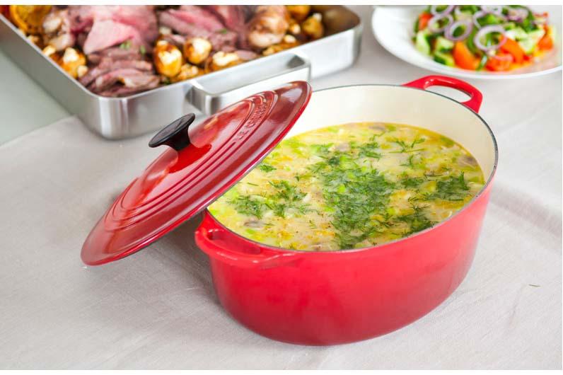 Magiritsa - Soppa Med Kyckling Och Avgolemono Recept