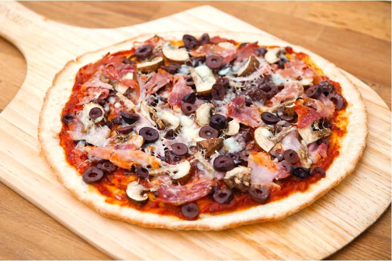 Pizza – Capricciosa Med Julskinka Skogschampinjoner Och Oliver Recept
