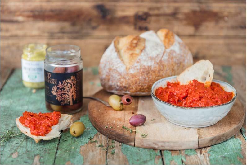 Paprikaröra Med Soltorkade Tomater Recept