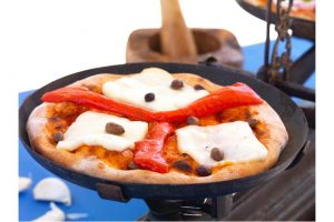 Pizza Med Grilloumi Recept