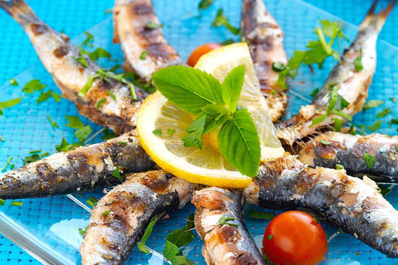 Grillade Sardiner Recept