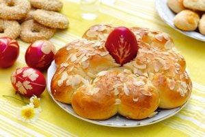 Påskbröd med masthia recept Fontana