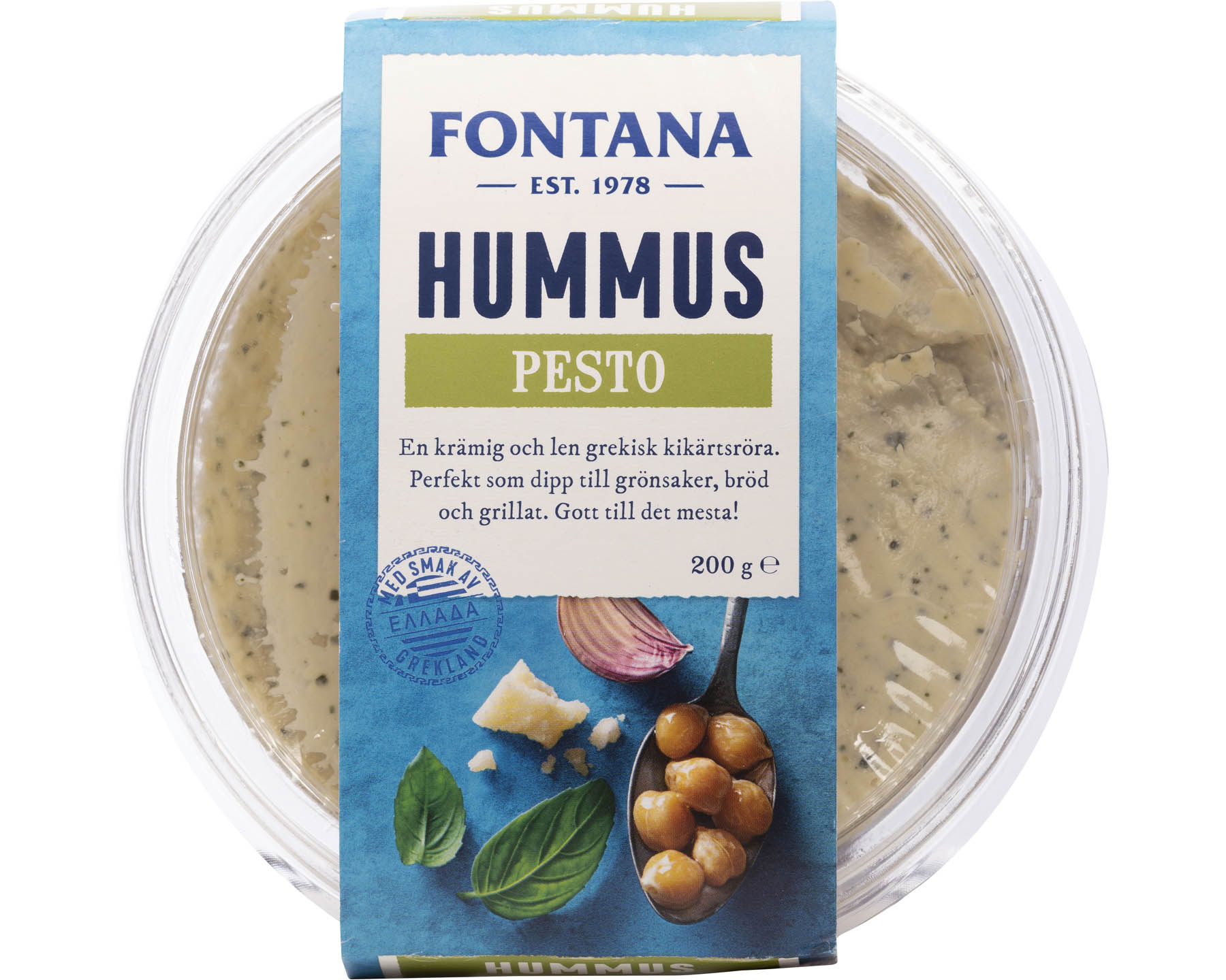 Fontana Hummus Pesto