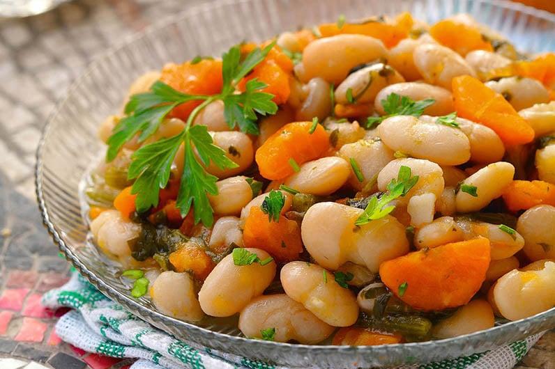 Fasolia Vita Bonor Med Olivolja Recept