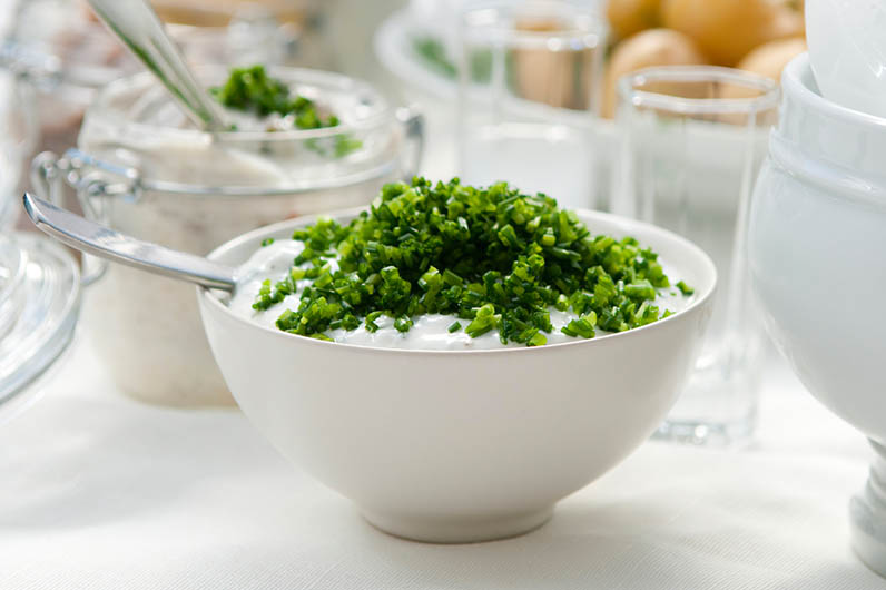 Gräslöksdipp På Grekisk Yoghurt Recept