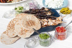 Grekisk Taco Souvlaki Recept