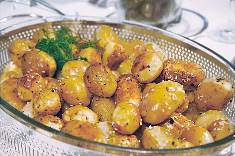 Grekisk potatis - Patates sto fourno recept