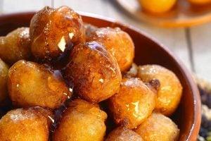 Loukoumades Cypriotiska Munkar Med Honung Recept