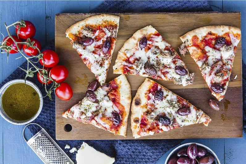Pizza med lammfärs recept