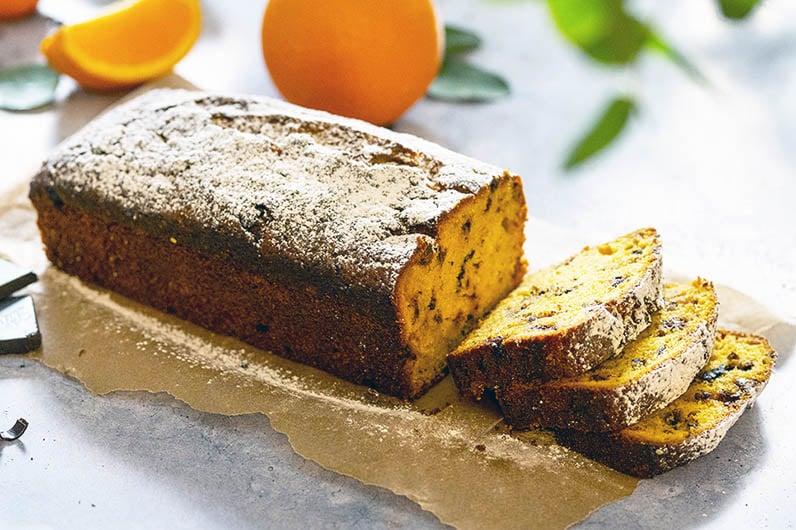 Saftig Apelsinkaka Med Olivolja Recept