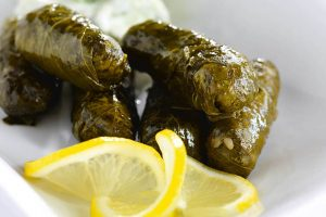 Vegetariska vinbladsdolmar recept