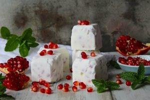 Frusna yoghurtkuber recept