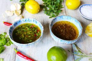 Grill marinad recept
