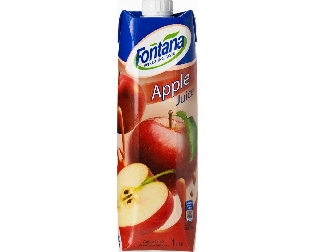 Fontana Äppeljuice 1 l