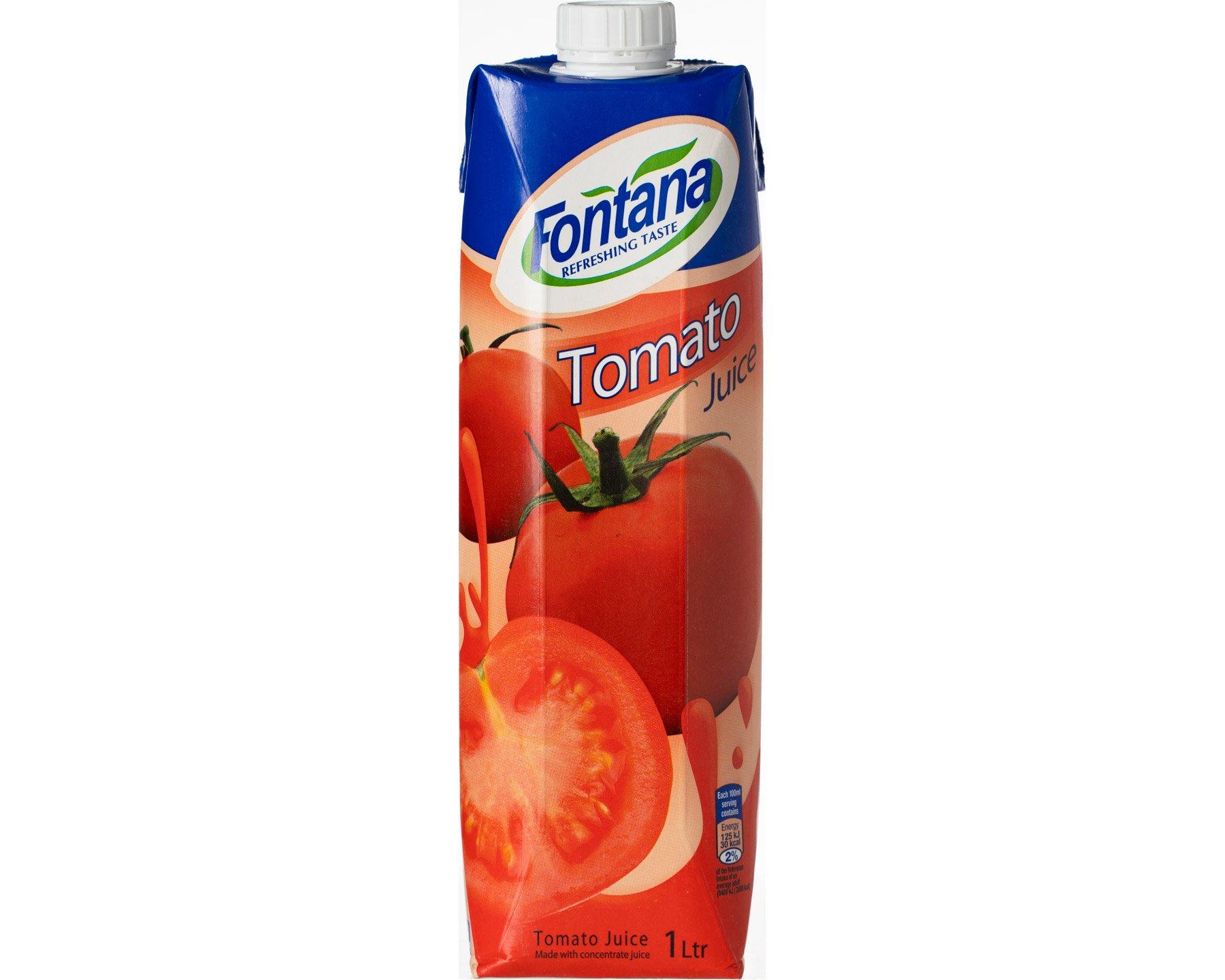 Fontana Tomatjuice 1 l