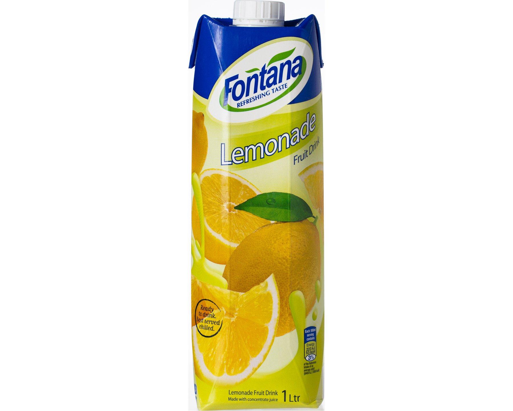 Fontana Lemonad Fruktdryck 1 l