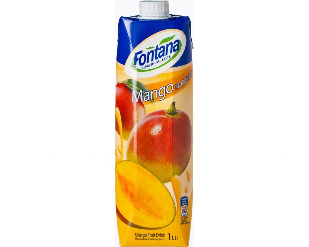 Mango Fruktdryck Fontana 1 l