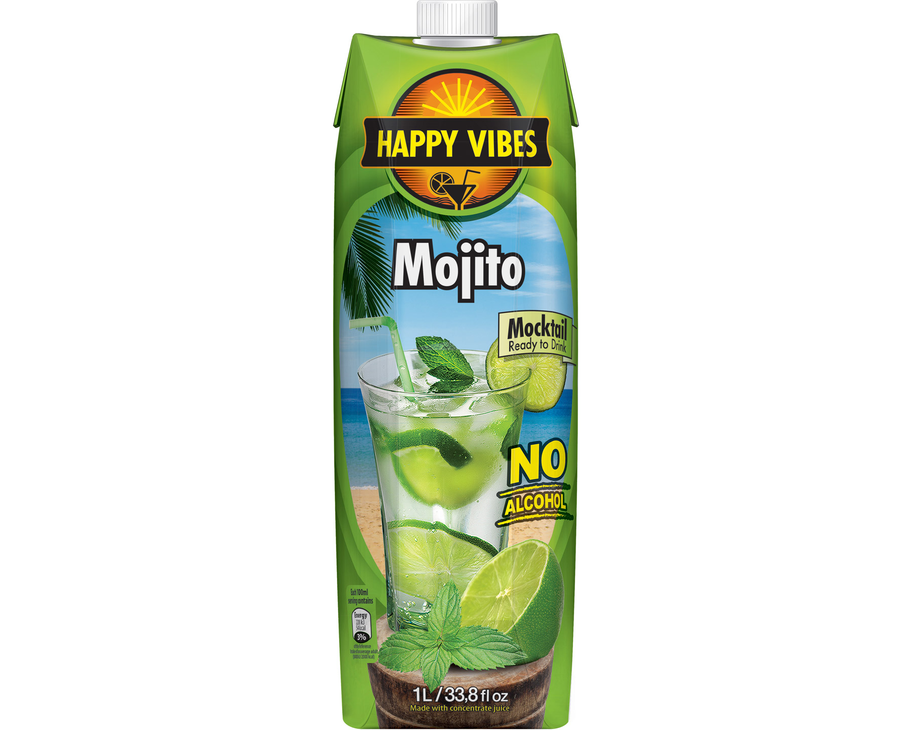 Fontana Happy Vibes Mojito 1 l