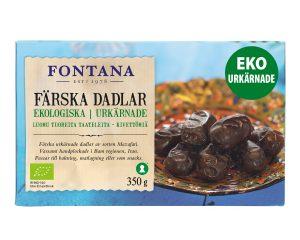 Fontana Färska Dadlar Urkärnade Ekologiska 350 g