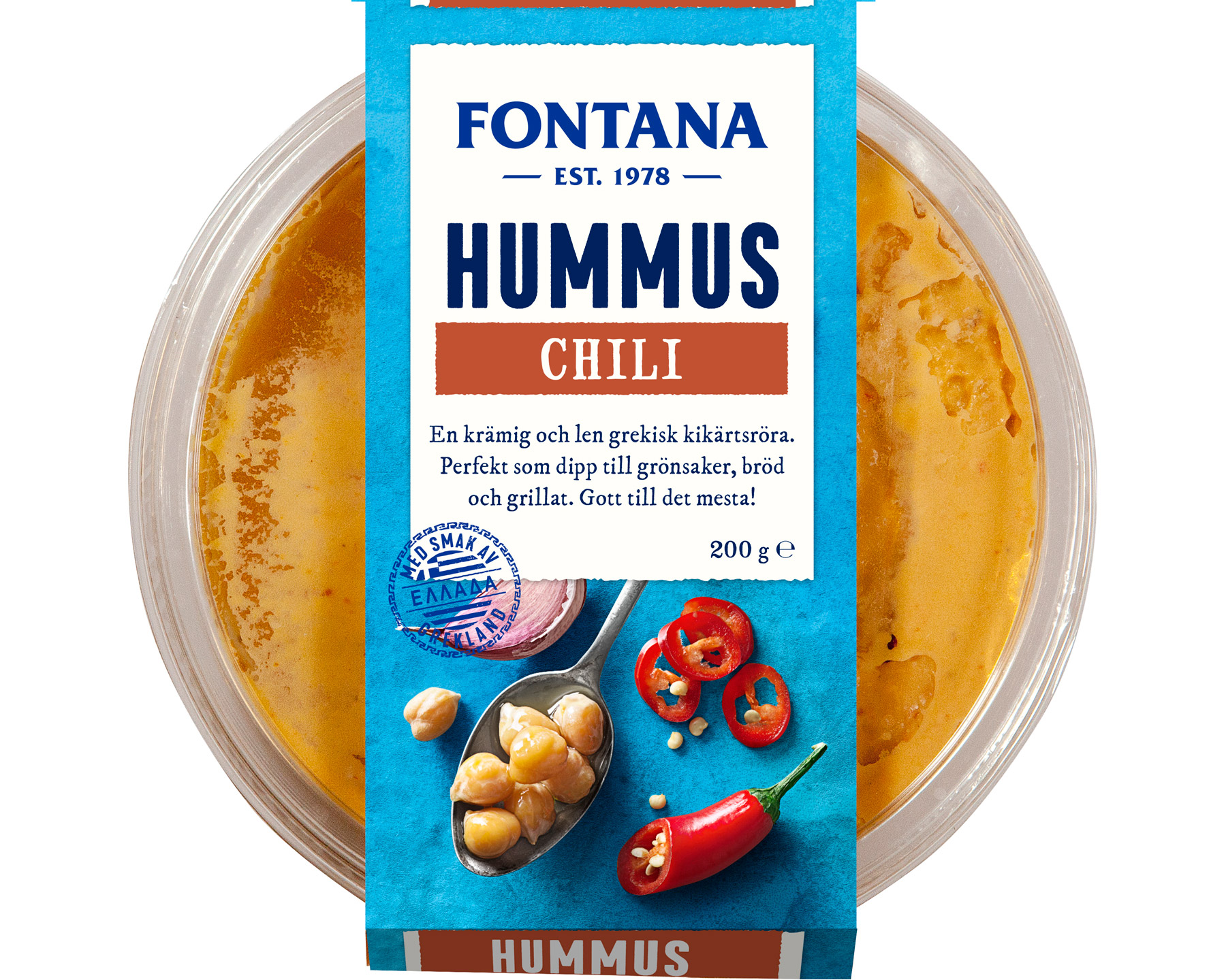 Fontana Hummus Chili 200 g