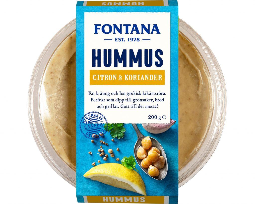 Fontana Hummus Citron & Koriander
