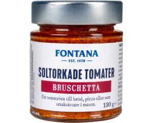 Fontana Bruschetta soltorkade tomater 130 g