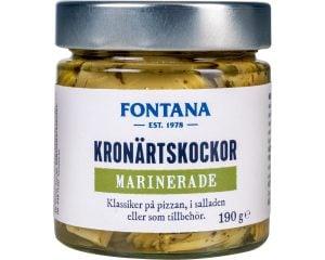 Fontana Kronärtskockor marinerade 190 g