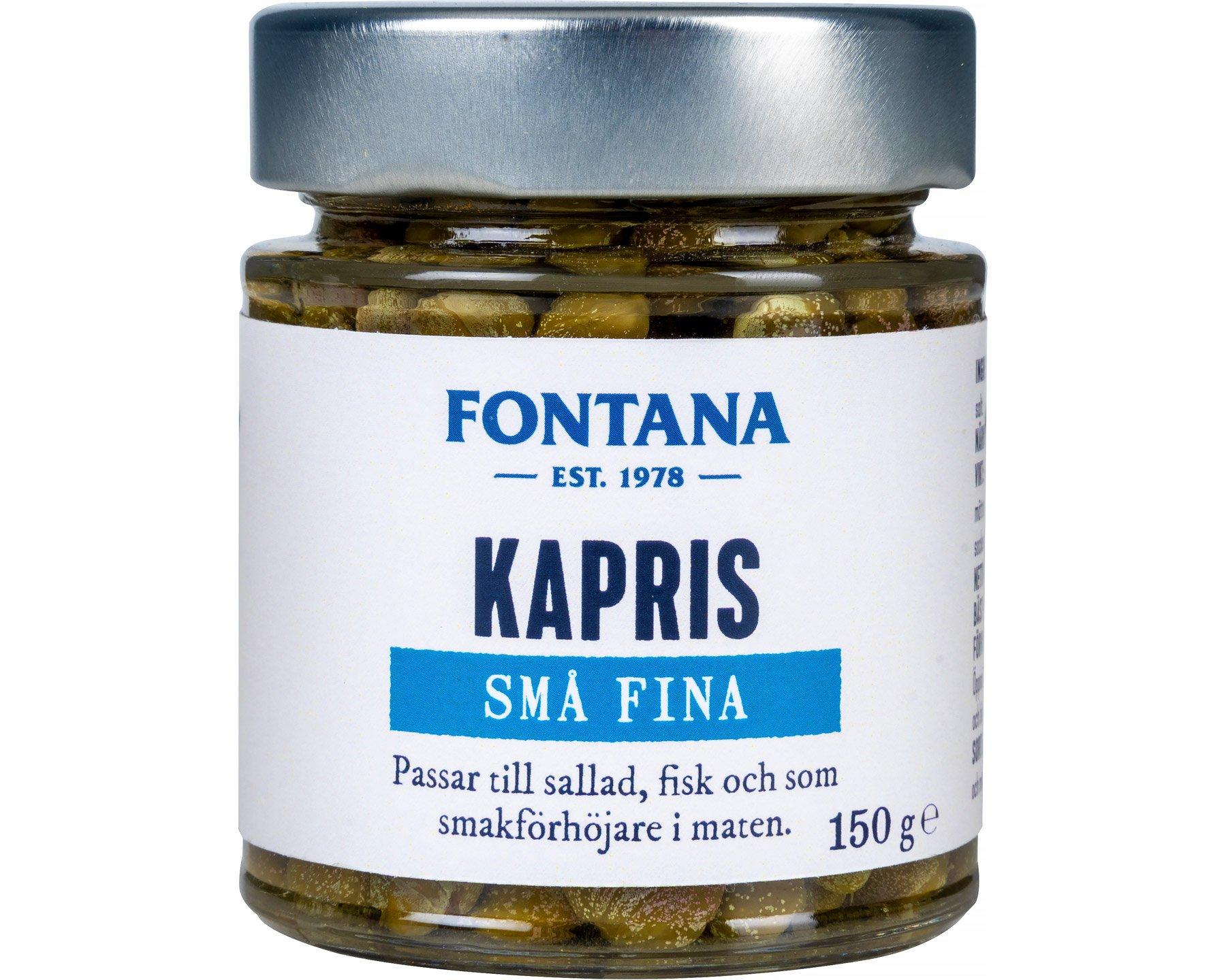 Fontana Kapris små fina 150 g