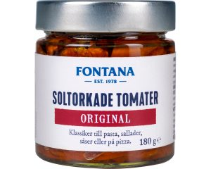 Fontana Soltorkade Tomater Original 180 g