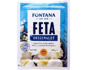 Fontana Feta Originalet|Fontana Fetaost från Grekland 150g
