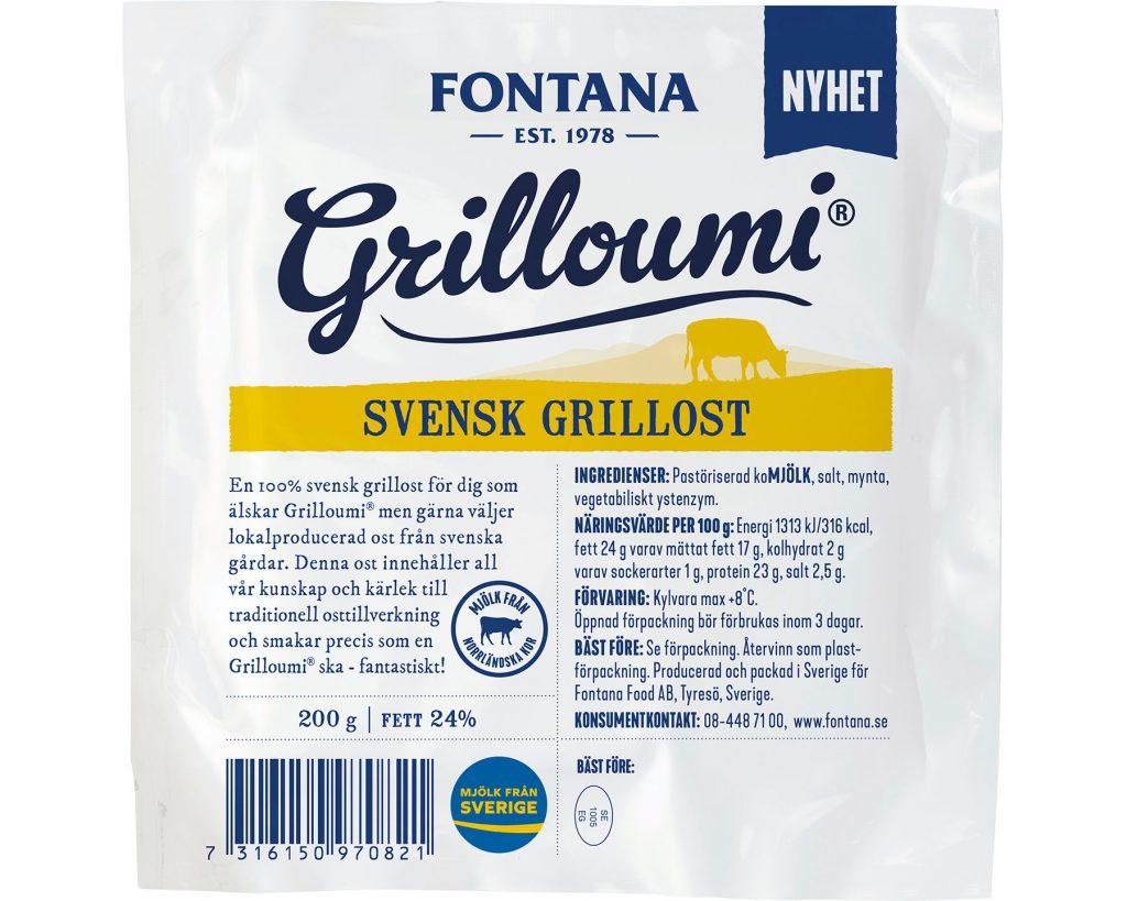 Fontana Svensk Grilloumi