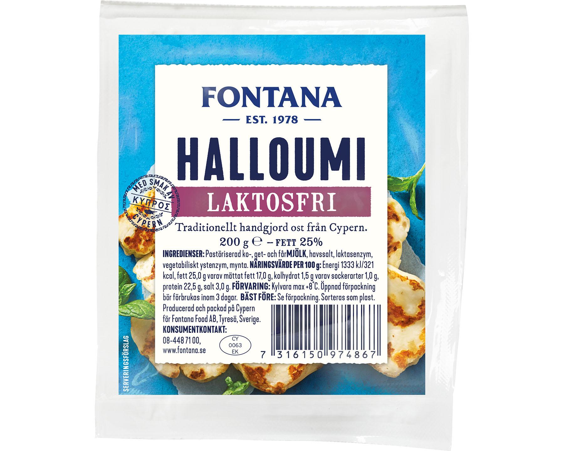 Fontana Halloumi Laktosfri