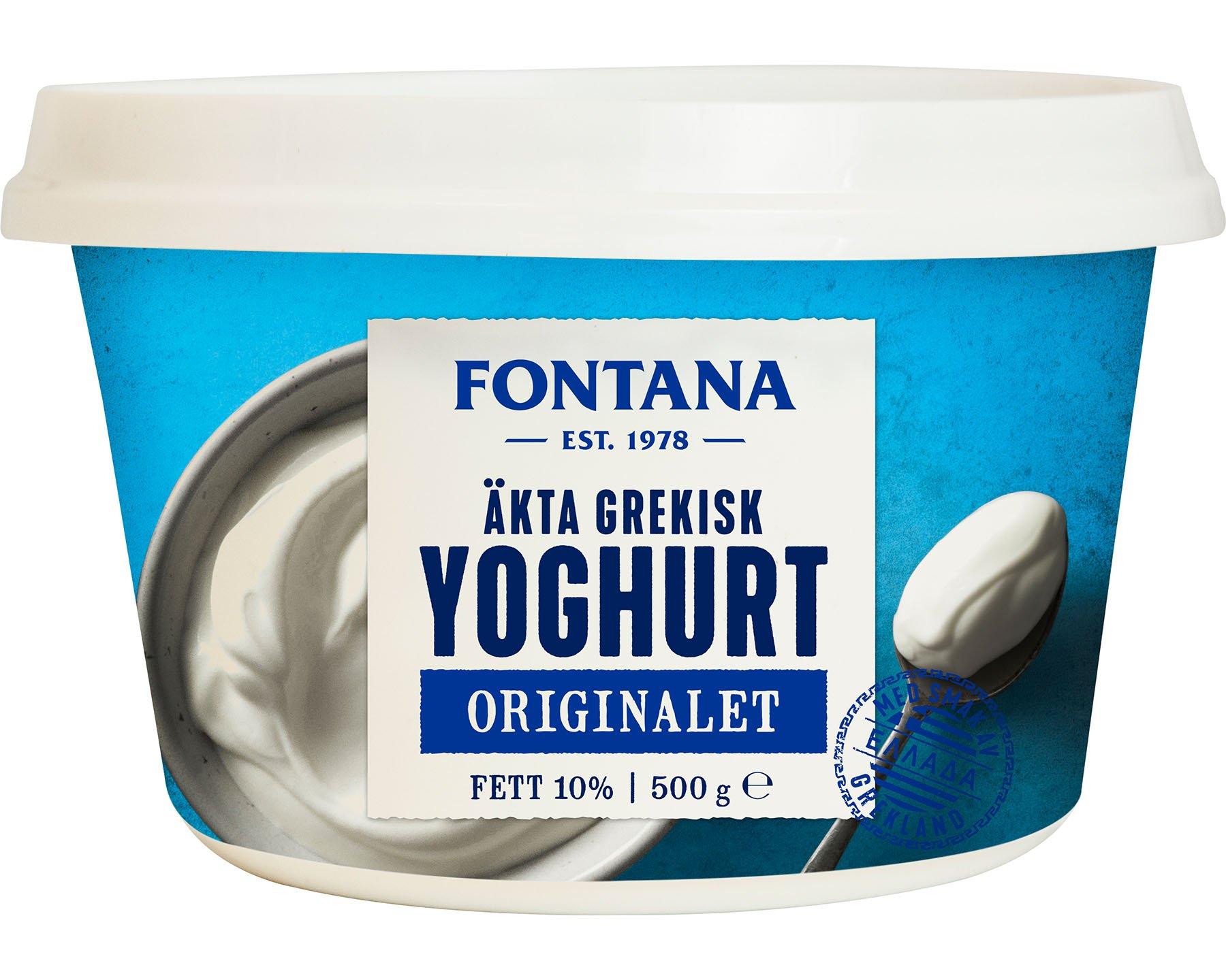 Fontana Äkta Grekisk Yoghurt 10 percent
